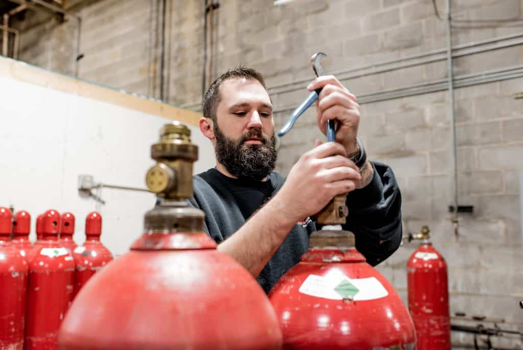 Fire suppression systems inspection services in Atlanta, GA and surrounding areas.