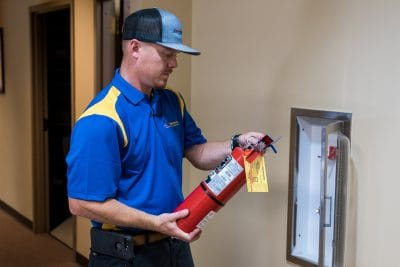 when to replace a fire extinguisher