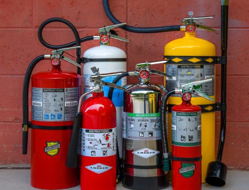 How to Clean Up Fire Extinguisher Residue