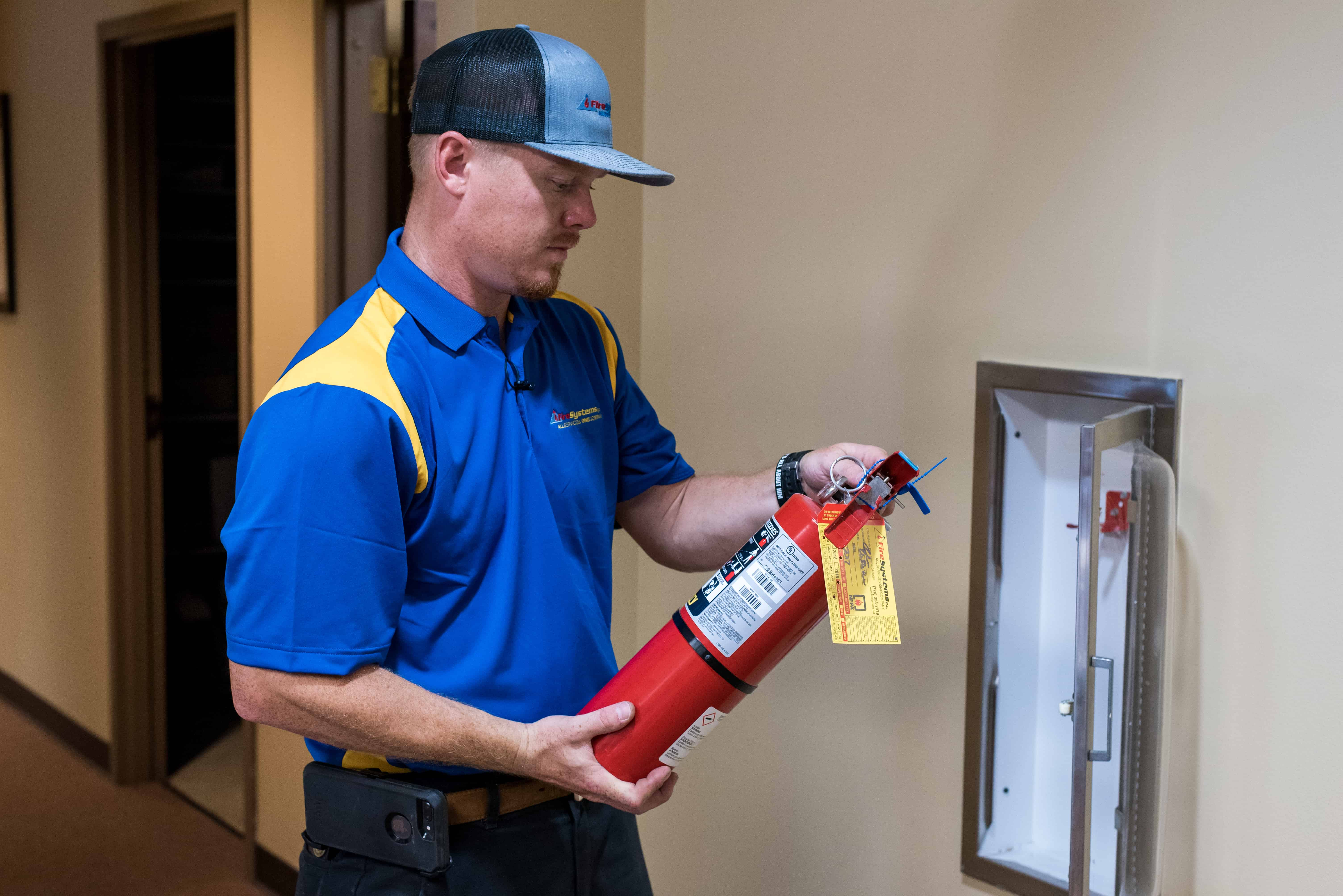 Why should I Hire a Company to Conduct Fire Extinguisher