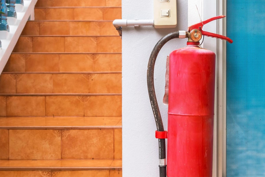 Key Places To Keep A Portable Fire Extinguisher
