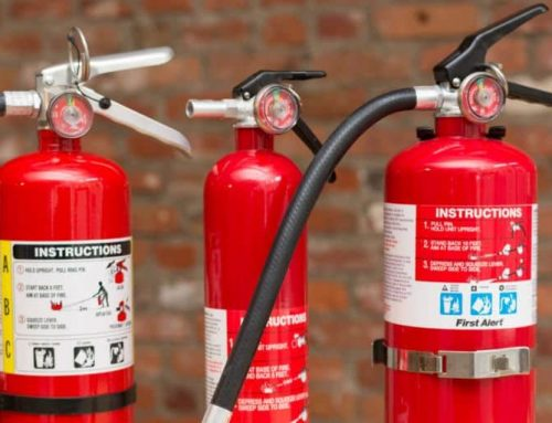 3 Unexpected Places to keep a Portable Fire Extinguisher