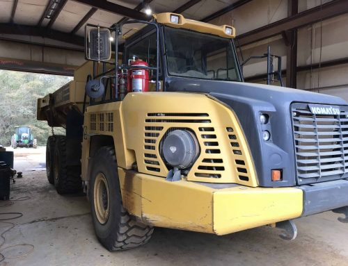 Projects in Progress: Haul Truck Vehicle System Install for Local County Landfill