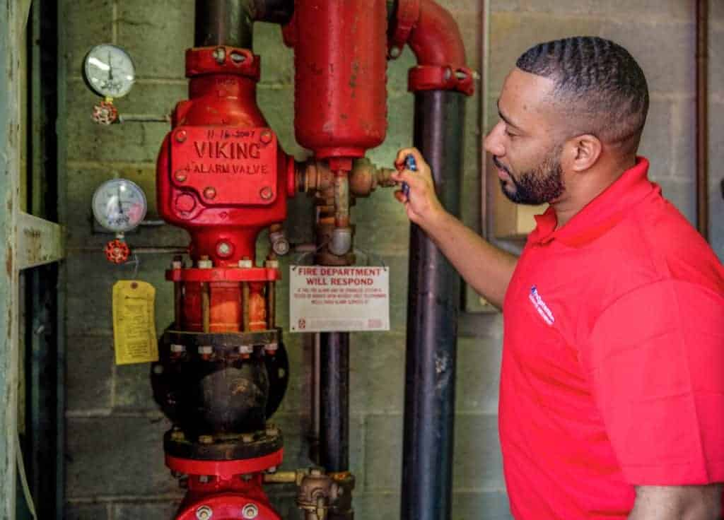 fire protection system inspections