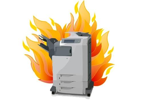 workplace fire